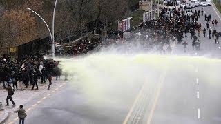 Ankara'da Berkin Elvan eyleminde çatışma - BBC TÜRKÇE
