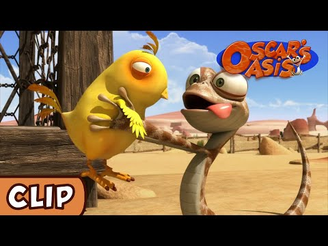 Oscar's Oasis - Chicken Supper | HQ | Funny Cartoons