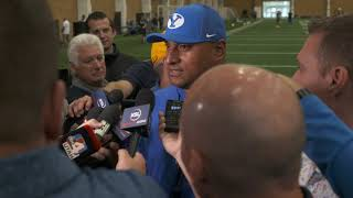 BYU Football - Fall Camp - July 31, 2019 - Kalani Sitake Media
