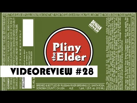 VIDEOREVIEW #28 | Russian River Pliny the Elder
