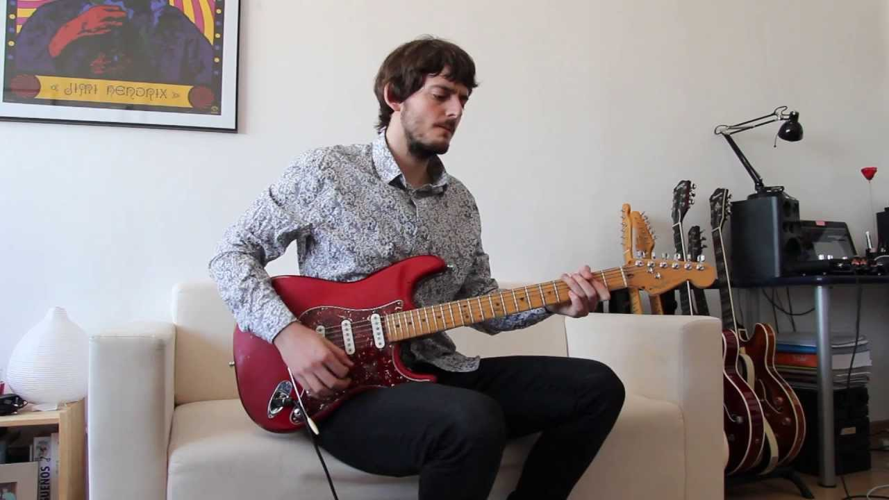 Demo Fender Stratocaster American Standard With Texas