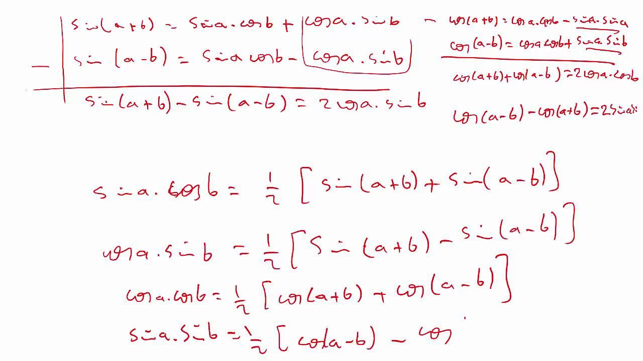حساب التفاضل و التكامل 2 |  الوحدة 4 |  تكامل الدوال المثلثية   - 4