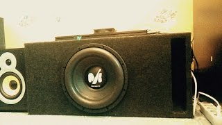 [Автоакустика дома] Alphard Machete m12(, 2016-08-11T13:57:51.000Z)