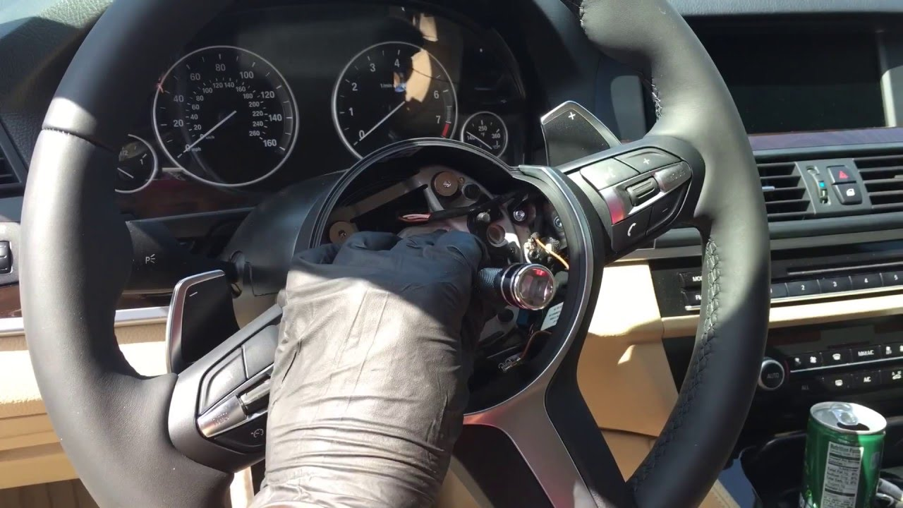 2013 Bmw Steering Wheel Swap 2016 M Series Youtube