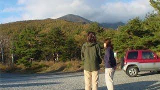八ヶ岳 網笠山 登山口 駐車場 観音平への ドライブレコーダー