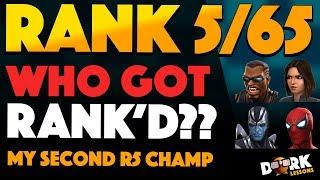 My Second 5 Star Rank 5 Champion: Who Got RANK