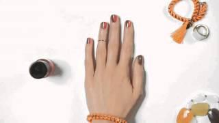 Видеоурок: ногти в шахматном тренде