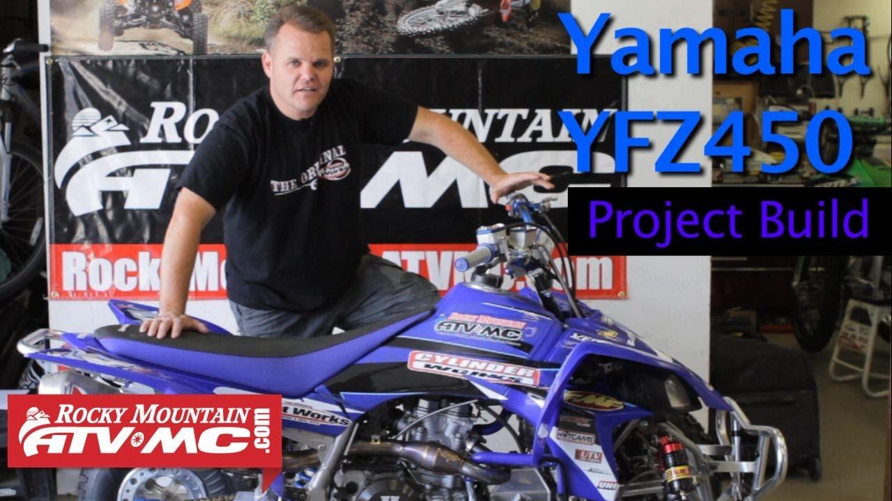 yamaha yfz450 project build [ 1280 x 720 Pixel ]