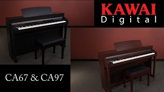 Kawai CA67 and CA97 Digital Pianos