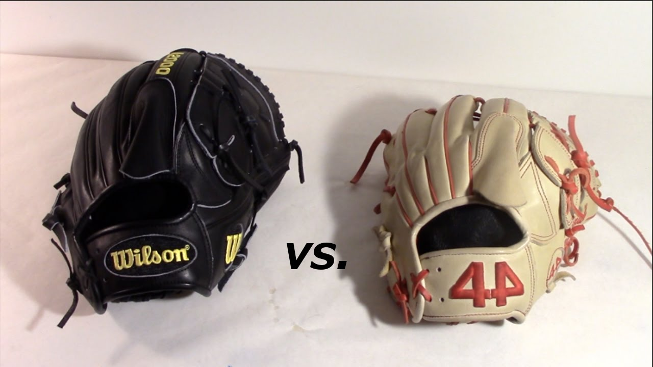 Wilson A2000 vs  44 Pro Gloves Signature Series!