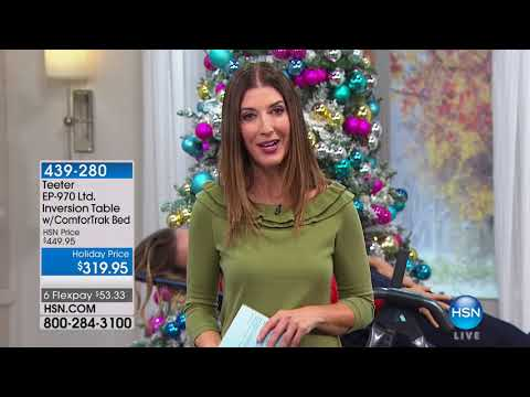 HSN | Teeter Inversion Fitness Solution 11.11.2017 - 03 PM