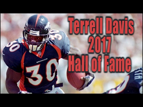 Terrell Davis Pro Football Hall of Fame