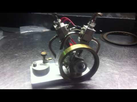 v twin gas engine on ebay by davidt9256