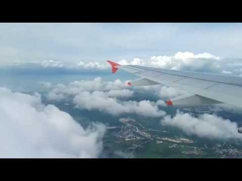 Landing in Manila Airport Ninoy Aquino International Airport