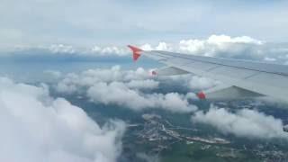 Landing in Manila Airport Ninoy Aquino International Airport