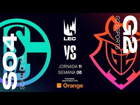 SCHALKE 04 VS G2 ESPORTS | LEC | Spring Split [2019] League of Legends