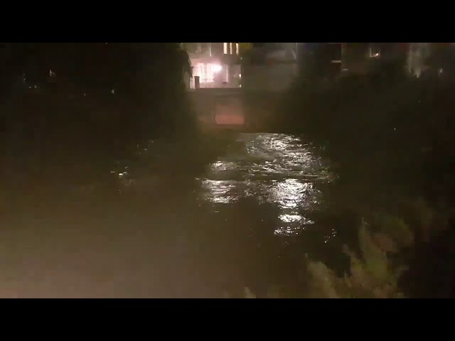 Slitrig Water in Hawick at Backdamgate