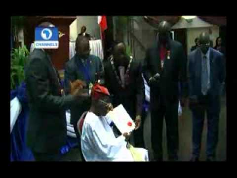 Nigerian institute of management honours Channels Television