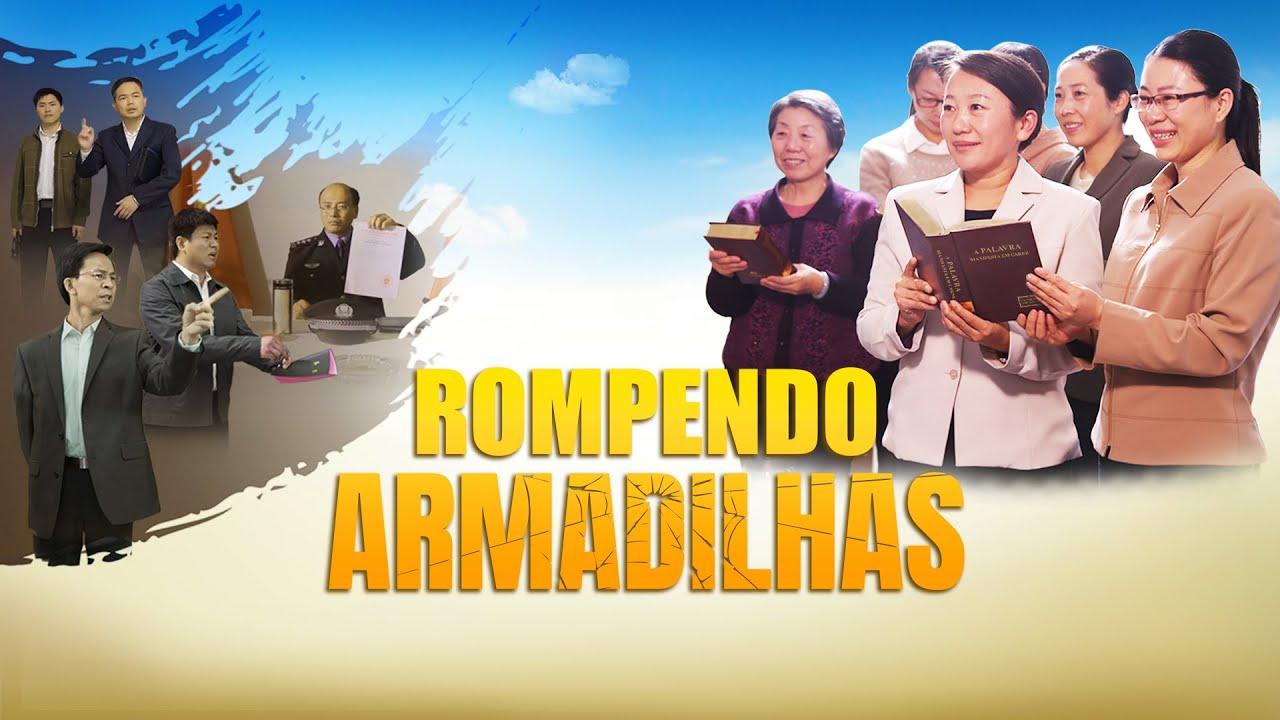 """Rompendo armadilhas"" Filme gospel completo dublado 2018 (Trailer)"