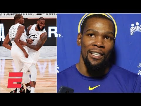 Kevin Durant: Team LeBron should 'for sure' be heavy favorites in the All-Star Game | NBA Sound thumbnail