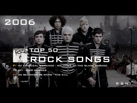 Top 50 - Rock Songs - 2006 ☑️