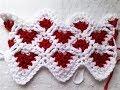 Little hearts part 1 Easy crochet pattern tutorial
