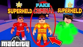 CRIMINAL ALS SUPERHELD VERKLEIDET! - MAD CITY ROBLOX