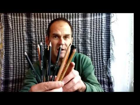 Charcoal Pencil Comparison: General's, Conte Paris, Primo Euro, Pitt ✍🏽