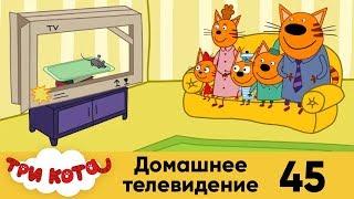 три кота | Серия 45 | Домашнее телевидение
