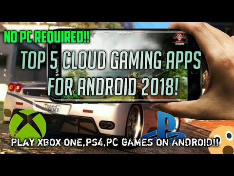 Top 5 Cloud Gaming Apps for Android|No PC required|Apps like