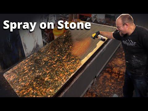 Spray on Granite in 10 minutes | Stone Coat  Epoxy