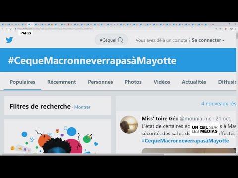 Un œil sur les médias - Mayotte : Emmanuel Macron attendu au tournant