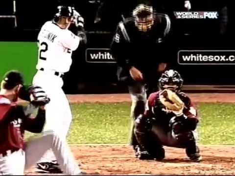 Chicago White Sox vs Houston Astros 2005 Game 3