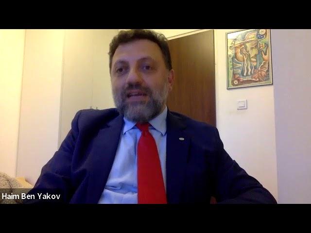Видео встречи с профессором Тель-Авивского университета д-ром Хаимом Бен Яаковом