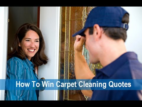 How To Win In Home Quotes For Your Carpet Cleaning Business