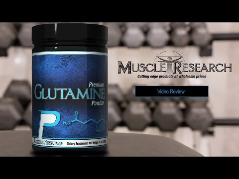 Glutamine supplement review video by Muscle Research