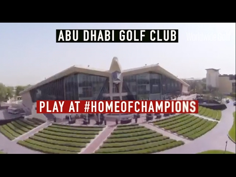 Play at The Home of Champions - Abu Dhabi Golf Club