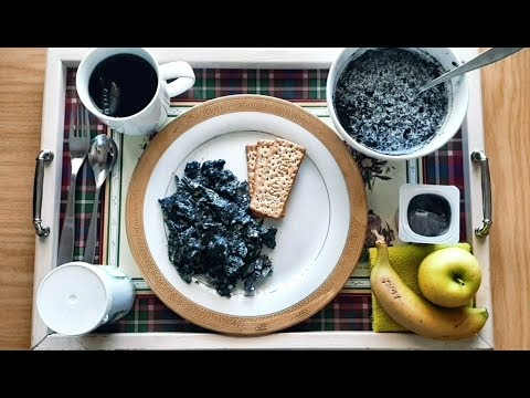 EATING ALL THINGS CHARCOAL FOR BREAKFAST || SOUTH AFRICA