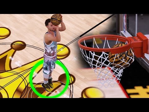 GAME BREAKING MOST OVERPOWERED HALF COURT SHOOTING STEPHEN CURRY CARD! NBA 2k16 MyTeam Gameplay