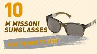 M Missoni Sunglasses For Women // New & Popular 2017