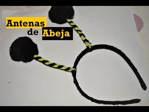 Antenas de Abeja - Diadema decorada #2 - Tutorial - DIY - AnabelMonGar