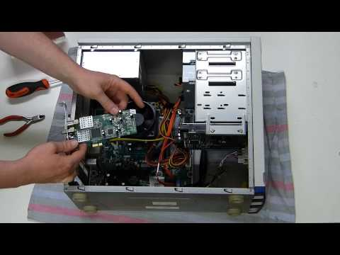 Building a PC [4] - Expansion Cards and Card Reader