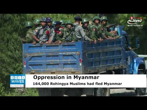 UN: Some 164,000 Rohingya refugees fled fresh violence in Myanmar