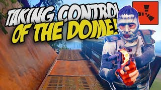 TAKING CONTROL OF THE DOME With ZOMBIES! - Rust Co-op Survival Gameplay