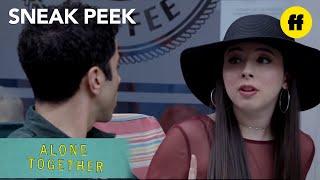 Alone Together | Season 1, Episode 4 Sneak Peek: Esther Wears Adult Diapers | Freeform