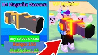 Acheter le vide le plus puissant dans Roblox Vacuum Simulator
