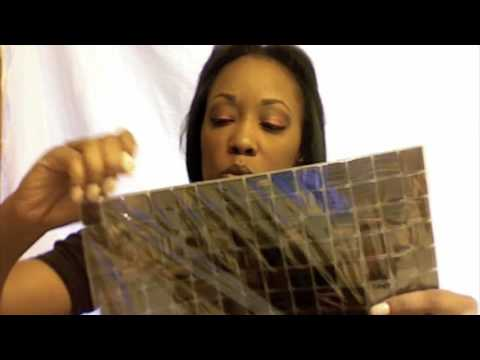 Hgtvmirror project with mosaic tiles youtube solutioingenieria Gallery