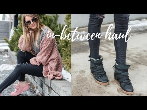 IN-BETWEEN HAUL + ISABEL MARANT BOOTS | Life with A.Co