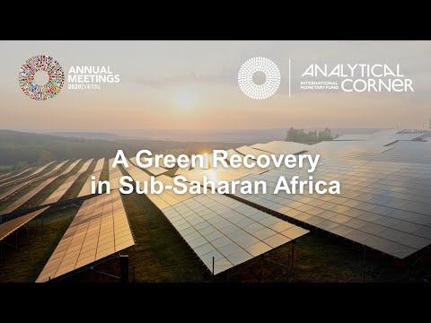 A Green Recovery For Sub-Saharan Africa