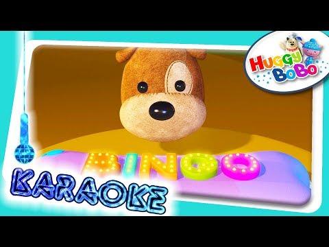 Bingo The Dog | Karaoke Version | Nursery Rhymes | By HuggyBoBo